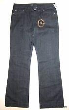 Kut from The Kloth NWT Jeans WOMENS 14 Dark Denim Trouser Style Wide Leg NEW