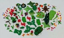 Vintage PLAYMOBIL Greenery, Plants, Flowers, Trees LOT - NICE