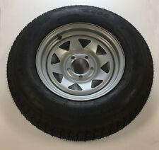 ST205/75 D14 Triton 06672 Class C Trailer Tire with Steel Rim - Single