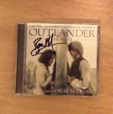 SIGNED By Bear McCreary Outlander Season 3 Soundtrack New +PIC Diana Gabaldon