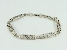 Charles Rennie Mackintosh Bracelet Sterling Silver Ladies 925 12.3g Fy39