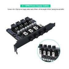 HDD Hard Drive Power Supply Switch Control Module SATA For Desktop PC Computer G