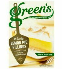 4 x Greens Zesty Lemon Pie Fillings  (8x70g) 4 x Boxes Flat 4 postage Vegetarian
