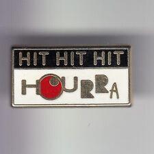 RARE PINS PIN'S .. TV RADIO PRESSE TELEVISION M6 MUSIQUE HIT HOURRA DECAT ~DE