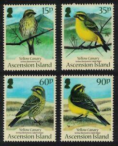 Ascension Yellow Canary Bird 'Serinus flaviventris' 4v 2010 MNH