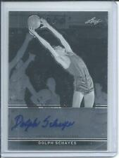 2012-13 Leaf Metal  #BA-DS1 HOF DOLPH SCHAYES SYRACUSE NATIONALS AUTOGRAPHED