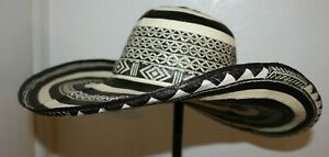 COLOMBIAN HAT~~FINO SOMBRERO VUELTIAO~~CUSTOM DESIGN  23  M/LARGE