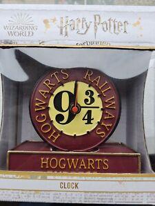 Harry Potter 'Hogwarts Express 9¾' clock, new in box