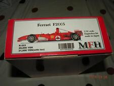 MODEL FACTORY HIRO MFH 1/20 F1 FERRARI F2005 ENGINELESS KIT K223