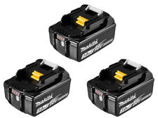MAKITA KIT BATTERIA 3.0AH 18V 3 BATTERIE INDICATORE LED mod. BL1830B GARANZ. ITA