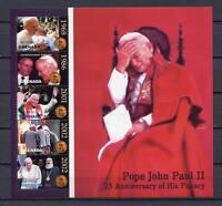 36304) Grenada 2004 MNH Pope John Paul II S/S