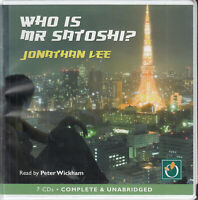 Jonathan Lee Who Is Mr Satoshi? 7CD Audio Book Unabridged Contemporary Fiction