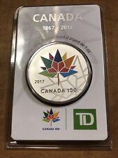 Canada 150, 2017, 1oz TD Silver Round - Original Packaging