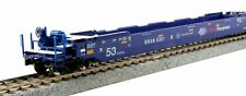 KATO 309056 HO Gunderson Maxi IV Well 3- UNIT Car Set Pacer Stacktrain 30-9056