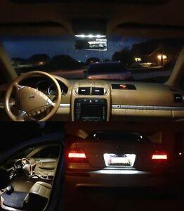 20x White LED Interior Kit FOR BMW 7 Series E38 740i 750i+ License Plate LEDs