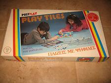 "Greek Vintage Toy 80's Polyplast "" PLAYTIMES"""