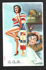 PIN-UP & QUILLE du MILITAIRE