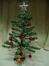 """Table Top 20"""" Kurt S Adler Rotating/Musical Christmas Tree W/Box"""