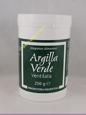 Erboristeria Magentina ARGILLA VERDE VENTILATA 250g benessere gastro intestinale