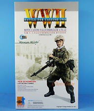 "DRAGON 1:6 FIGURE 12"" WW2 German Solider Paratrooper FG-42 Battle Cassino 70819"