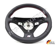 Audi a3 8l s line volante de cuero volante deportivo nuevo referido Echt Leder costura roja 116
