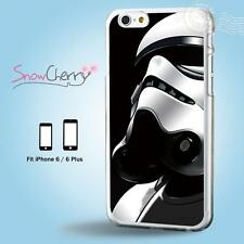 iPhone X 8 7 SE 6 6S Plus 5 5S 5C 4 4S Case Cover Star Wars Stormtrooper M19