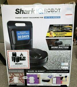 REFURBISHED BY Shark RV1001AE IQ Robot Vacuum Wi-Fi Google Assistant /Alexa