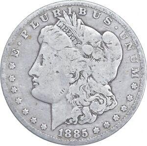 Early - 1885 Morgan Silver Dollar - 90% US Coin *095