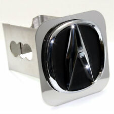 """Acura A Logo Chrome Tow 2"""" Receiver Hitch Cover Real Stainless Steel Plug"""