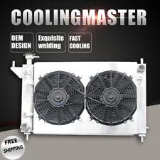 Aluminum Radiator+Fan Shroud For Ford Mustang Convertible GTS SVT Cobra V8 5.0L
