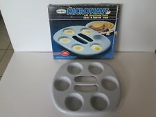 NORDIC WARE EGGS 'N MUFFIN PAN FOR MICROWAVE AND CONVENTIONAL OVEN
