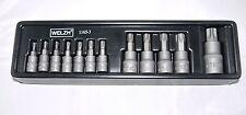 12pc Impact Star/Tamperproof torx socket set T8H - T60H  1165-3-WW W/Werkzeug