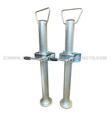42MM PROP STANDS WITH CLAMPS (PAIR) - TRAILER - HORSEBOX TTL.76.1008