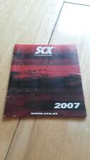 SCX CATALOGUE - 2007 EDITION POCKET SIZE