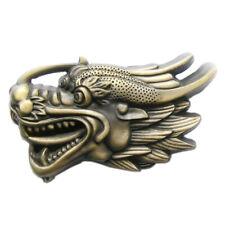 Chinese Dragon II Gürtelschnalle China Chinesischer Drache Asien Asia Asian RPG
