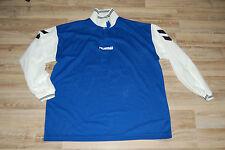 t-shirt foot football vintage manches longues no 12 taille XL 42 bleu hummel