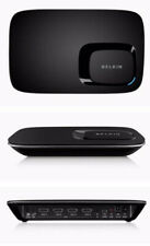 Belkin Screencast AV 4 Wireless AV-to-HDTV Adapter I/R Remote Home Video NEW NIB