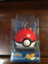 AUTHENTIC Brand NEW Pokemon Red / White Resin Keychain Collectible 2017 Series
