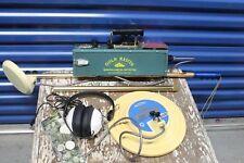Vintage Whites Gold Master Mineral & Metal Detector With Extras Bundle