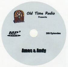 AMOS and ANDY - Old Time Radio - OTR - 309 Episodes - 1 MP3 DVD