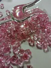"50 Pc "" Xlarge"" Pink Ice Crystals / Vase Filler"