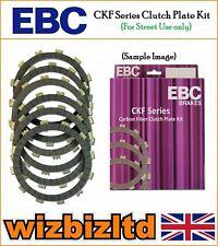 EBC FIBRA DE CARBONO ckf Kit Placa embrague HONDA CRM 75 RK / RL / RM 1989-94