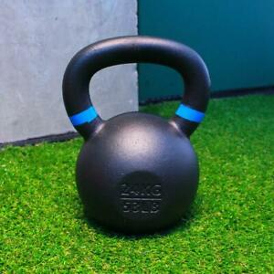 Kettlebells 24kg Cast Iron Fitness Home Gym Training Weights