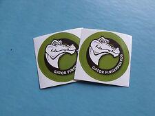 "Gator finger board 3"" inch Stickers"