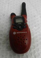 Red Motorola T5700 Talk-about 2-Way Radio @An15