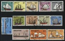 [JSC] SINGAPORE - 1980 'SHIPS' DEFINITIVES SET