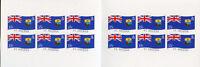 St Helena Flags Stamps 2008 MNH Island Flag National Emblems 12v S/A Booklet