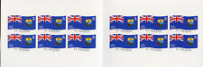 St Helena 2008 MNH Island Flag 12v S/A Booklet Flags National Emblems Stamps
