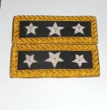 US 3 Star General Staff Officer Uniform Union Rank Army Boards Straps Civil War