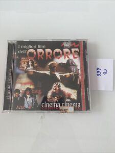 Cd Musicale I Migliori Film Dell'orrore Vol.4